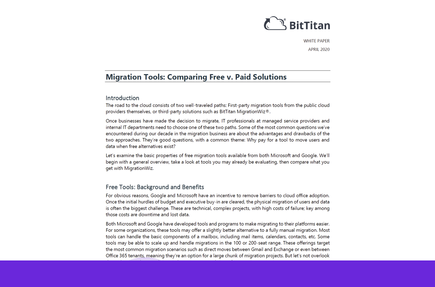 Migration Tools: Comparing Free v. Paid Solutions