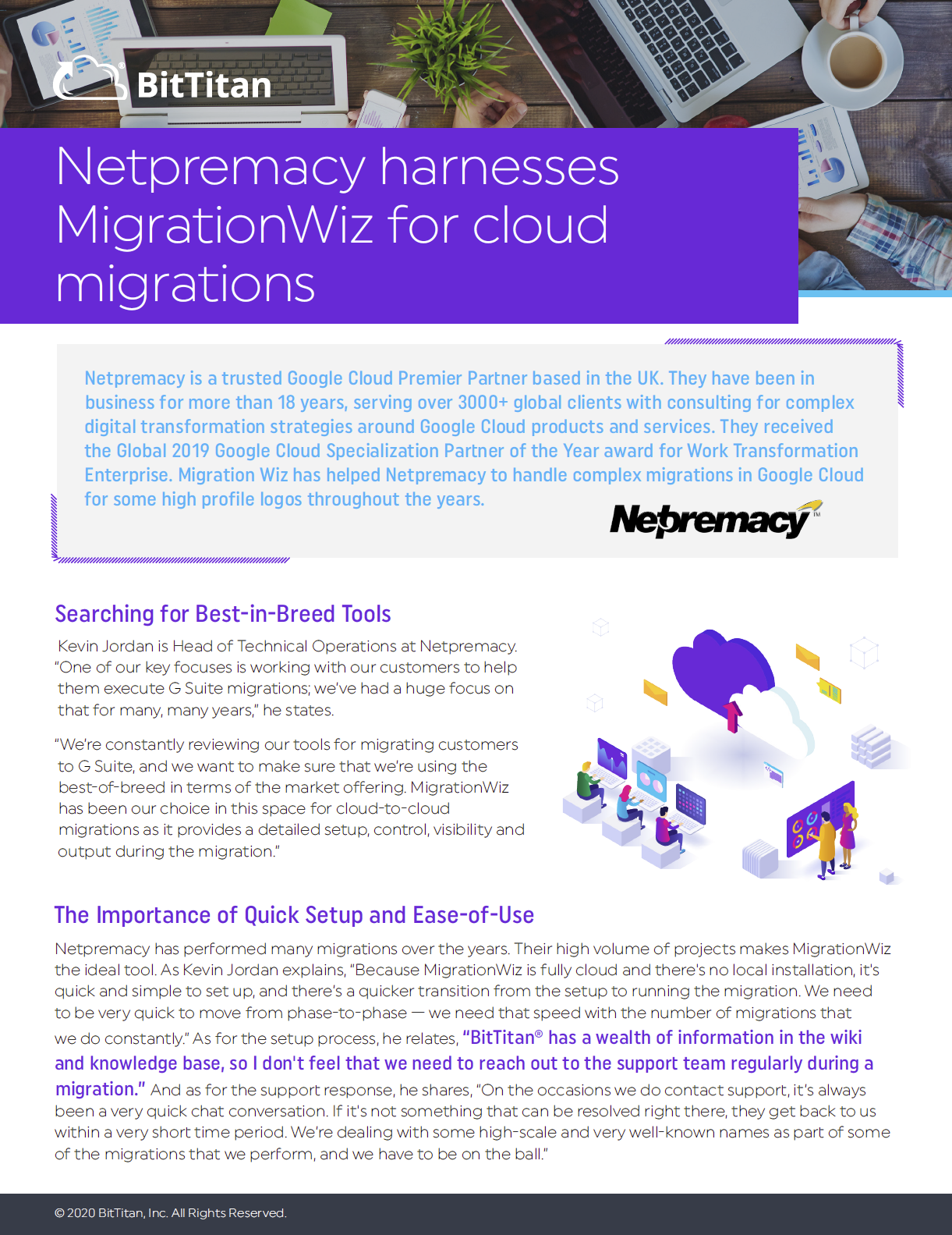 Netpremacy Harnesses MigrationWiz for Cloud Migrations
